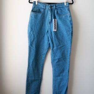 Noisy May Jeans - Noisy May 'Mom' High Waisted Jeans